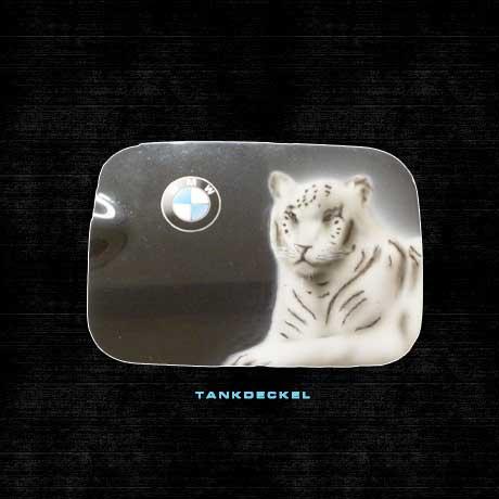 Tankdeckel airbrush tiger