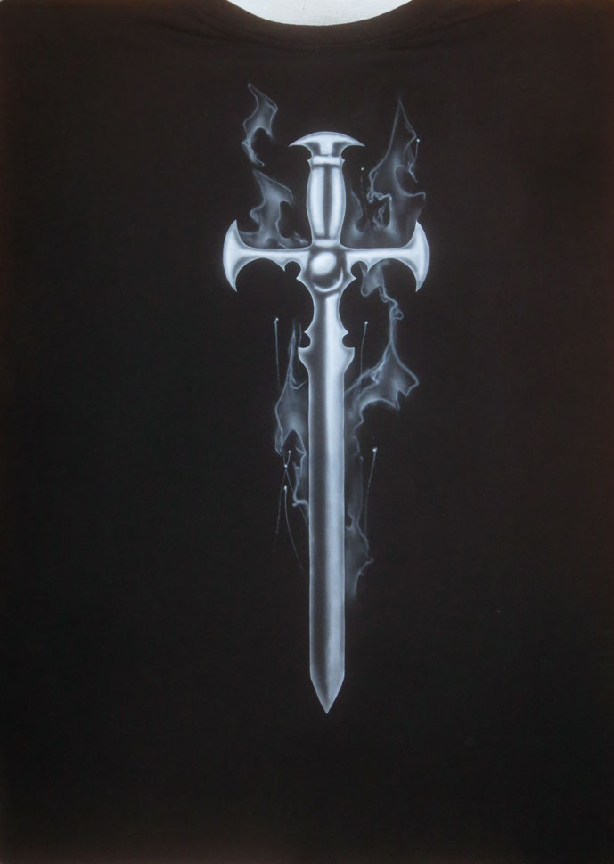 cusom-t-shirt-airbrush-sword-fire