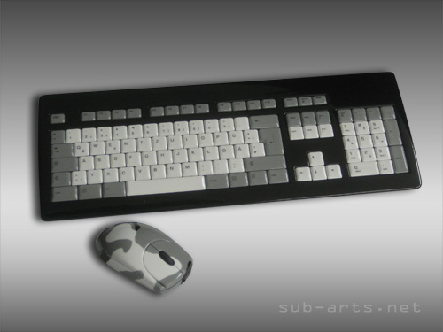 PC Tastatur Maus airbrush