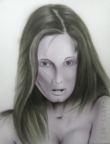 airbrush-portraet
