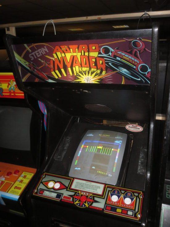 Astro Invader Arcade Marquee CP